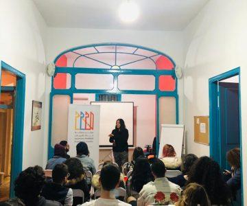 Talk by Hayat Mershad